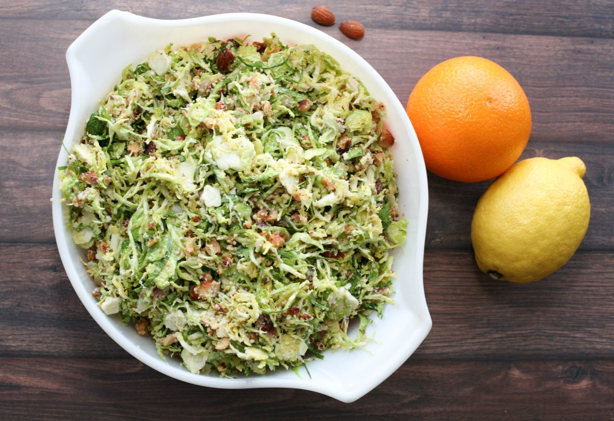 Bacon Brussel Sprouts Salad